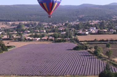 Provence hot air balloon + Luberon Provence hot air balloon + Ventoux Provence hot air balloon