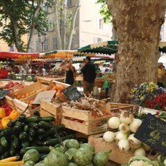 outdoor market Provence + outdoor market Luberon + outdoor market Ventoux