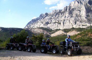 quad Provence + quad Luberon + quad Ventoux